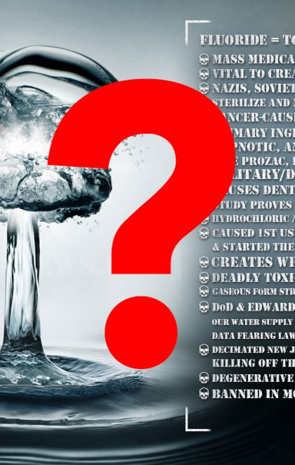 Fluoride Dirty Bomb - CDC Adjusts Fluoride Poisoning of America'