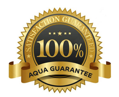 aqua website guarantee badge
